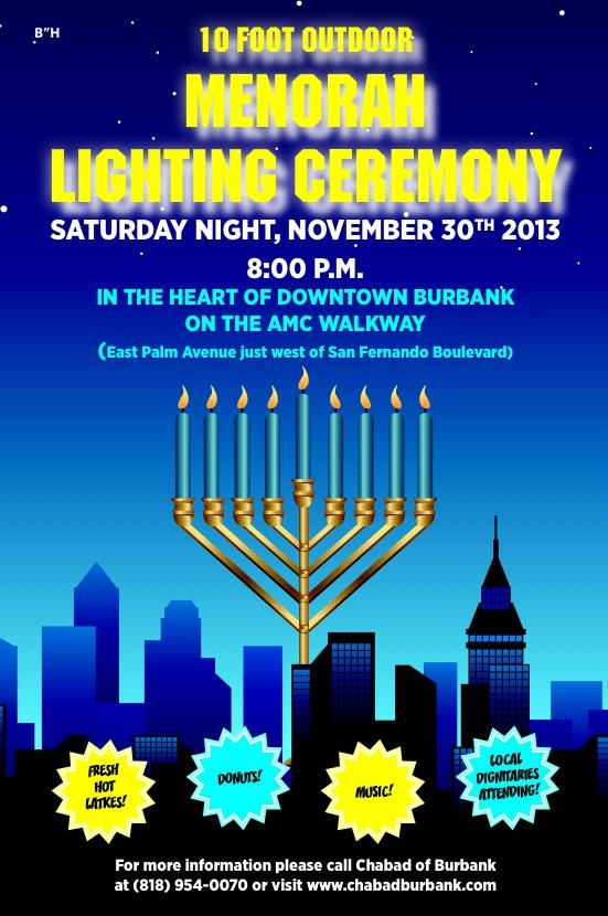 CHANUKAH IN BURBANK
